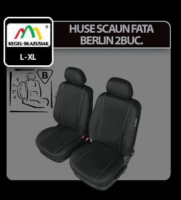 Huse scaun fata Berlin 2buc Lux Super Airbag - Marimea XL