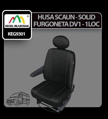 Husa scaun furgoneta de transport Solid DV1 - 1Loc
