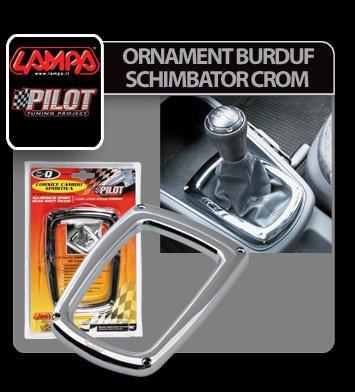Ornament burduf schimbator crom - L