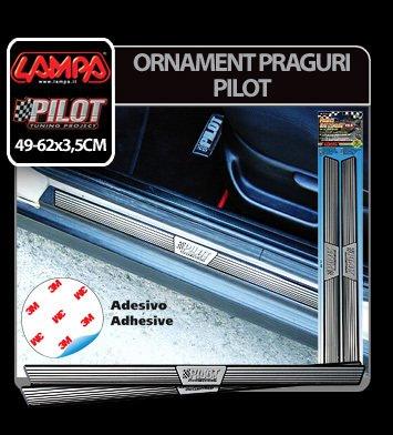 Ornamente praguri din aluminiu Pilot - PB-0 - 49x3,5 cm
