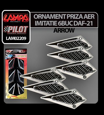 Ornament priza aer imitatie DAF-21 Arrow