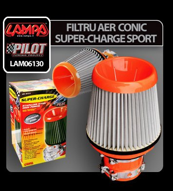 Filtru aer conic Super-Charge Sport