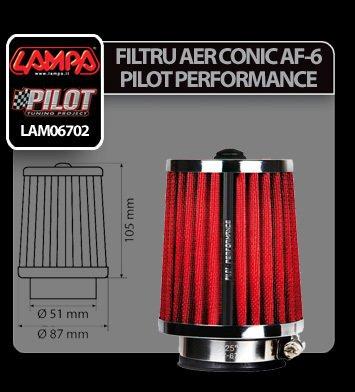 Filtru aer conic AF-6 Pilot Performance