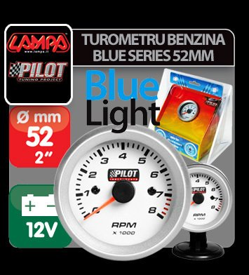 Turometru benzina Blue series 52mm - 3/4/6 cilindri