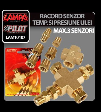 Racord senzor temperatura si presiune ulei
