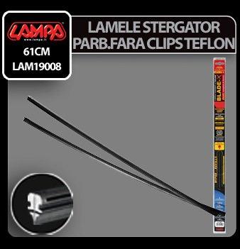 Lamele sterg parb cu clips Blade-X Plus - 61 cm - 6,5 mm - 2 buc