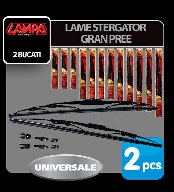 "Lame stergator Gran Pree - 43 cm (17"") - 2 buc"
