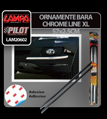 Ornamente bara protectie Chrome Line XL 2buc