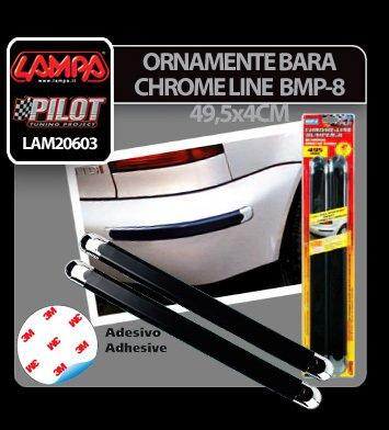 Ornamente bara protectie Chrome Line 2buc