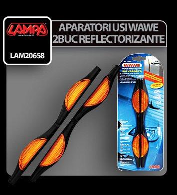 Aparatori usi Wave - 2 buc - Reflectorizant
