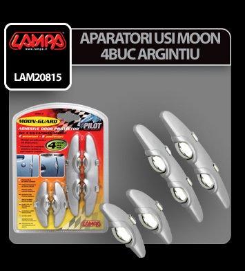 Aparatori usi Moon - 4 buc - Argintiu