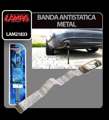 Banda antistatica din metal Lampa