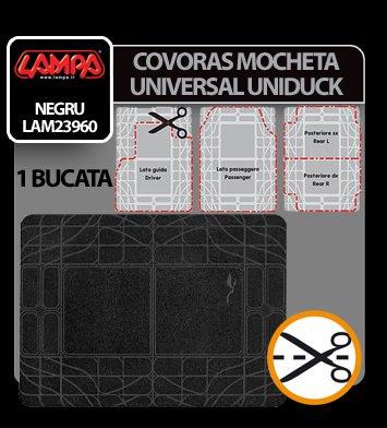 Covoras mocheta universal Uniduck 1buc - Negru