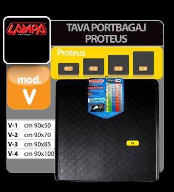 Tava portbagaj Proteus - V-3 - cm 90x85