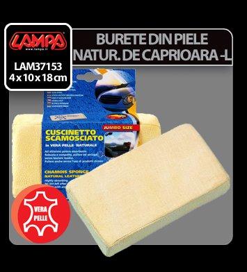 Burete din piele naturala de caprioara - L