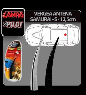 Vergea antena Samurai - S - 12,5 cm - Crom