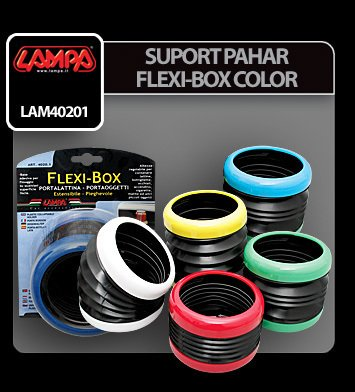 Suport pahar Flexi-Box color