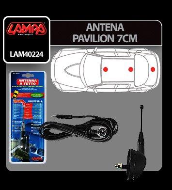 Antena pavilion Lampa - 7 cm