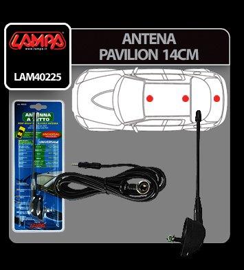 Antena pavilion Lampa - 14 cm
