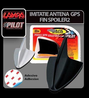 Imitatie antena GPS - Fin Spoiler 2 - Negru