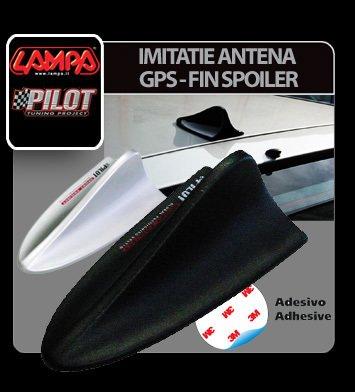 Imitatie antena GPS - Fin Spoiler - Argintiu