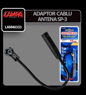 Adaptor cablu antena SP-3 mufa DIN in ISO Lampa