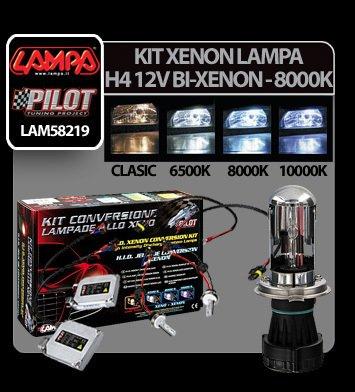 Kit Xenon H.I.D. Lampa H4 12V - (Bi-Xenon) - 8000K