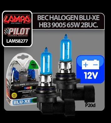 Bec halogen Blu-Xe  HB3 9005 65W P20d 12V 2buc