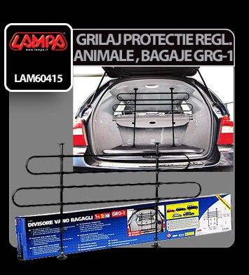 Grilaj protectie animale si bagaje reglabil GRG-1