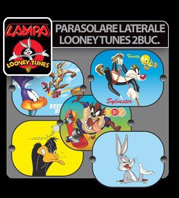 Parasolare laterale cu ventuze Looney Tunes 2buc - Taz