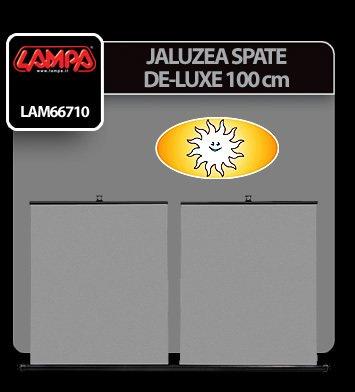 Jaluzea spate De-Luxe 100 cm Lampa