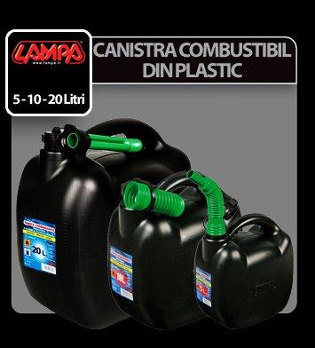 Canistra combustibil din plastic - 10L