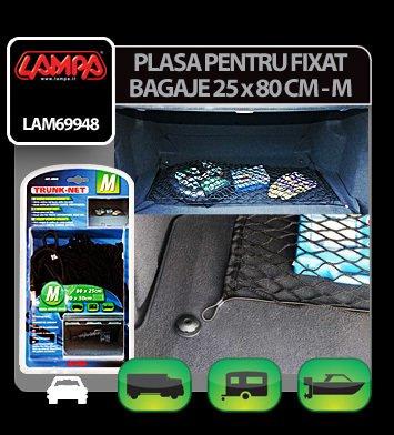 Plasa pentru fixat bagaje 25x80 cm - M - Lampa