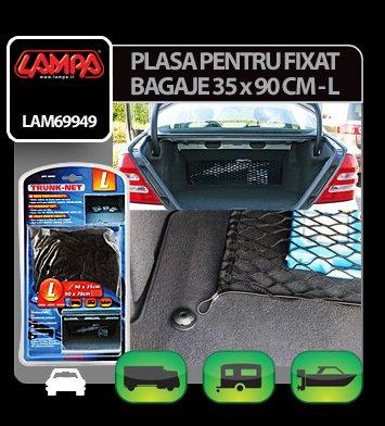 Plasa pentru fixat bagaje 35x90 cm - L - Lampa
