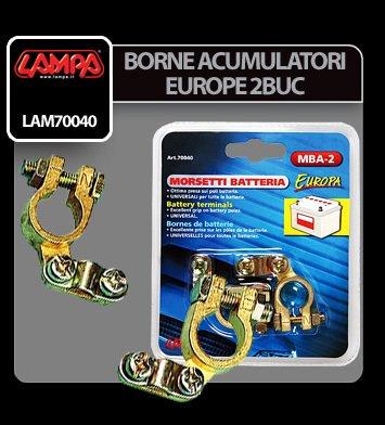 Borne acumulator Europe 2 buc