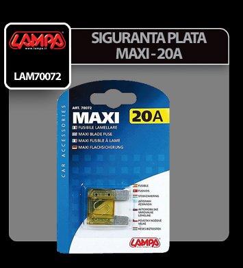 Siguranta plata Maxi - 20A