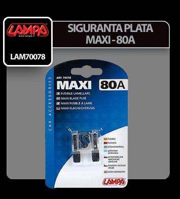 Siguranta plata Maxi - 80A