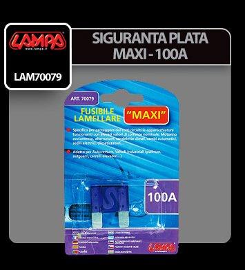 Siguranta plata Maxi - 100A