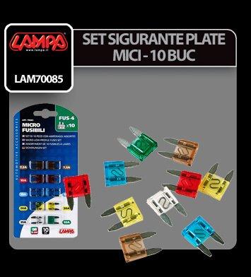 Set sigurante plate mici 10 buc - Lampa
