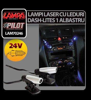 Lampi laser cu leduri 24V Dash-Lites 1 - Albastru