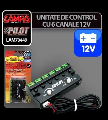 Unitate de control 6 in 1 - 12V