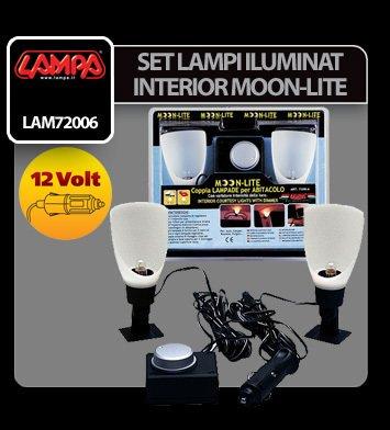 Set lampi iluminat interior Moon-Lite - 12V