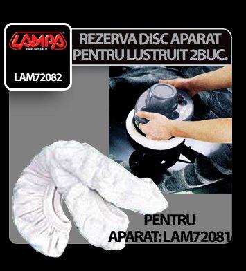 Rezerva disc panza pentru aparat de lustruit si ceruit Lampa 2buc
