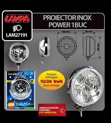 Proiector inox Power 1buc