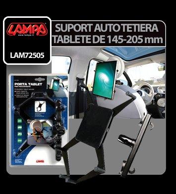 Suport auto pentru tablete la tetiera de 145-205 mm