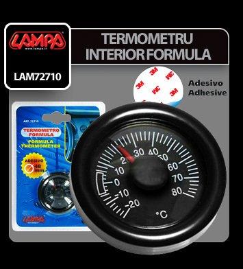 Termometru interior Formula