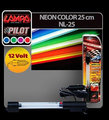Neon color 25 cm 12V - Rosu