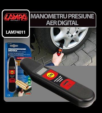 Manometru presiune aer digital Lampa