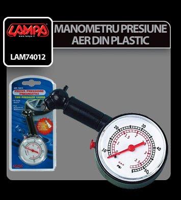 Manometru presiune aer din plastic Lampa