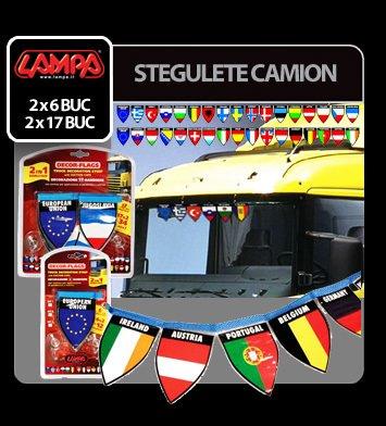 Stegulete camion - 2x17 stegulete